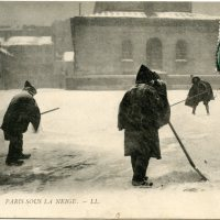 Postcards from a Snowy Paris