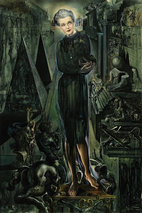 Salvador DalÍ's portrait of Mona Bismarck