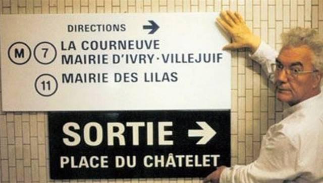 Frutiger Paris Metro