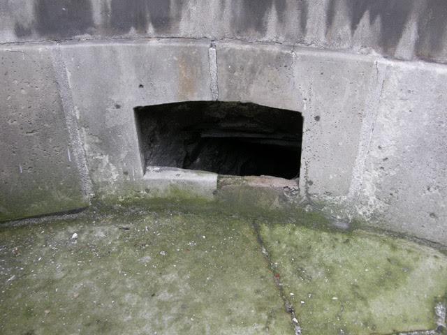 Basement opening