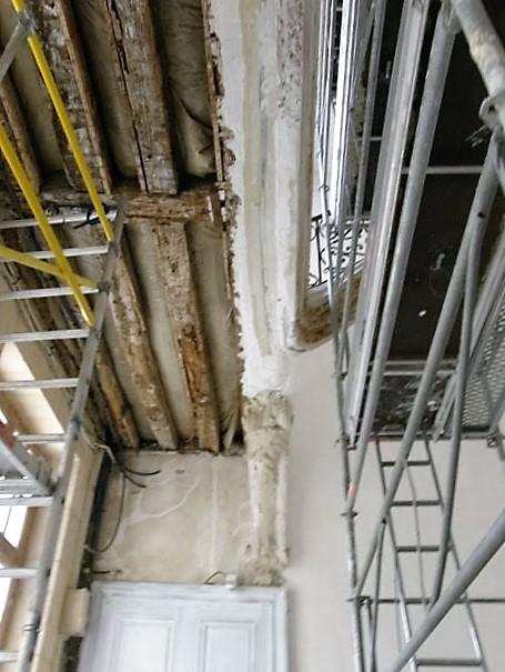 Restoration work